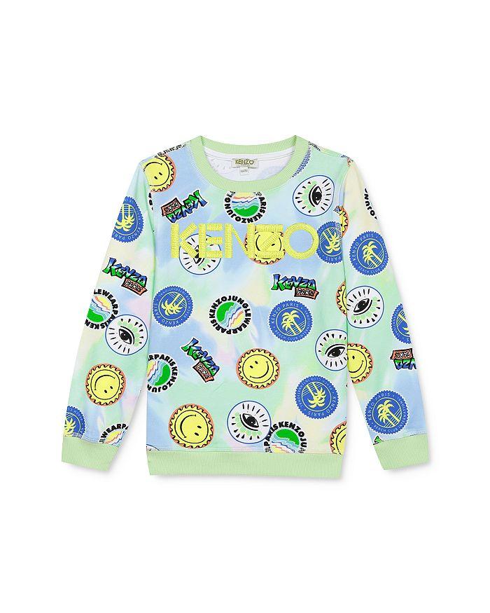 Kenzo - Boys' Tie-Dyed Printed Sweatshirt - Little Kid