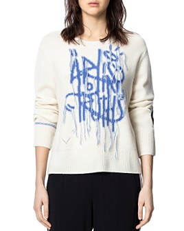 Zadig & Voltaire - Intarsia-Knit Pullover Sweater
