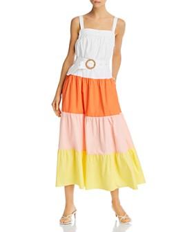 Endless Rose - Colorblocked Maxi Dress