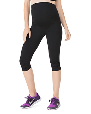 Cropped Active Maternity Leggings