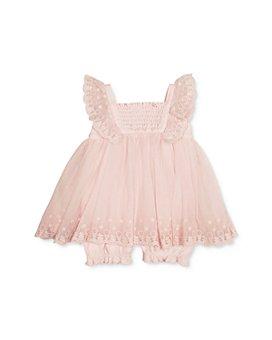 Miniclasix - Girls' Ruffled Dress Romper - Baby