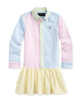 Ralph Lauren - Girls' Oxford Fun Shirtdress - Little Kid