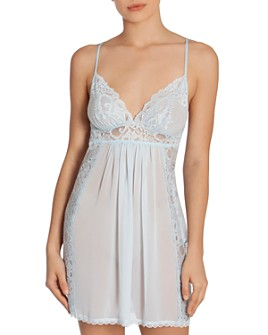 In Bloom by Jonquil - Lace Chemise Nightgown