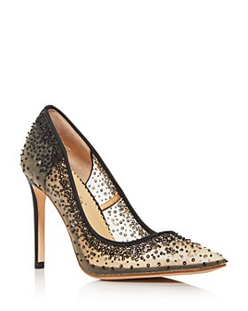 Bella Belle - Women's Elsa Embellished Pumps