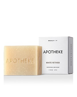 APOTHEKE - White Vetiver Bar Soap