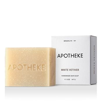 APOTHEKE - White Vetiver Bar Soap