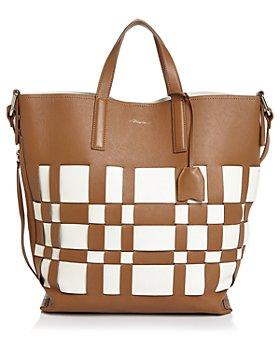 3.1 Phillip Lim - Odita Modern Large Lattice Leather Shop Tote