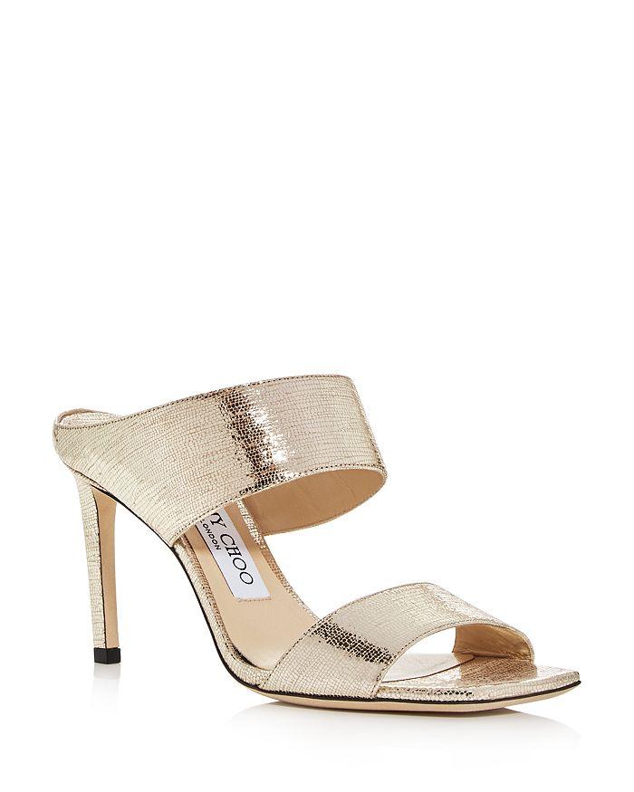 Jimmy Choo - Women's Hira 85 High-Heel Slide Sandals - 100% Exclusive