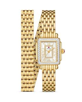 MICHELE - Deco Madison Mini Diamond Watch, 22mm x 35mm