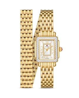 MICHELE - Deco Madison Mini Diamond Watch, 22mm x 35mm