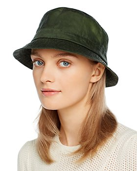 Barbour - Lightweight Waxed Cotton Bucket Hat