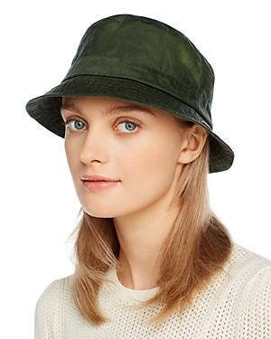 Barbour Lightweight Waxed Cotton Bucket Hat