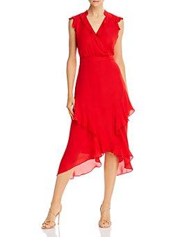 Parker - Atlanta Ruffled Midi Dress
