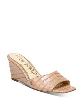 Sam Edelman - Women's Tesma Slip On Wedge Sandals
