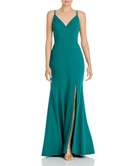 AQUA - A-Line Evening Gown - 100% Exclusive