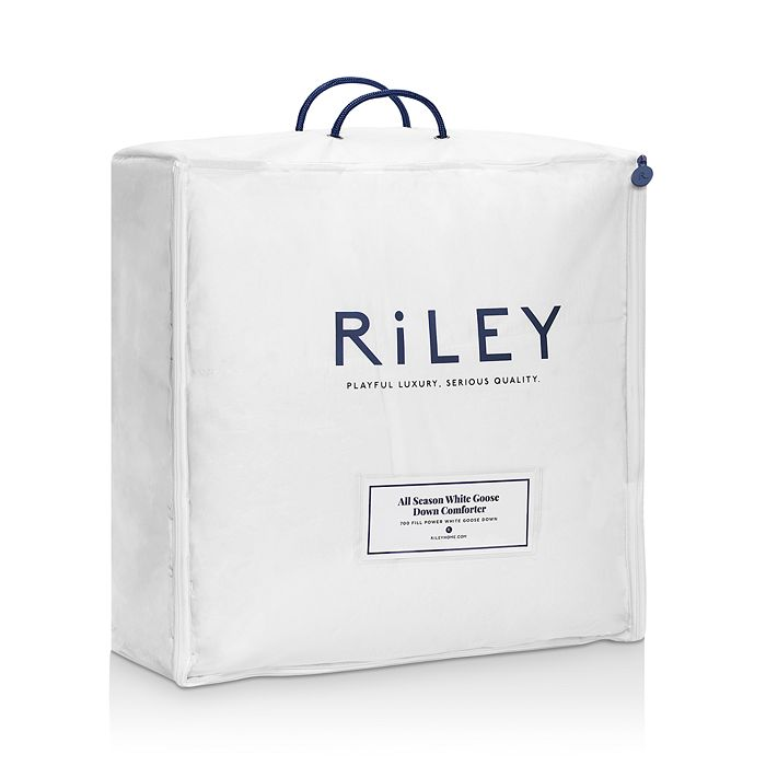 RiLEY Home - All Season White Goose Down Comforter, Full/Queen