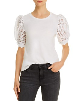Generation Love - Brittany Lace-Sleeve Top - 100% Exclusive