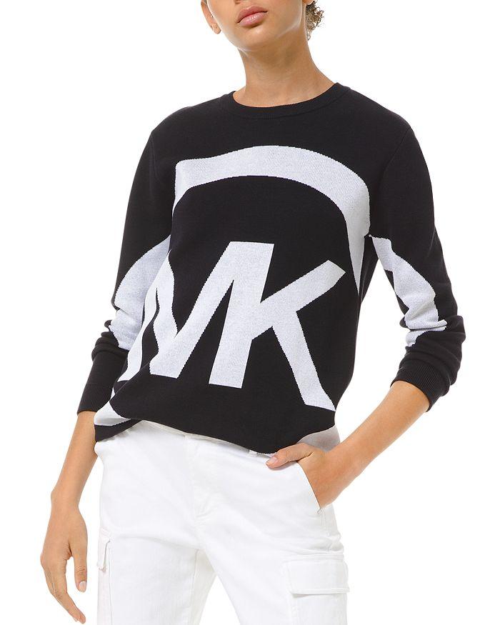 MICHAEL Michael Kors - Logo Graphic Sweater