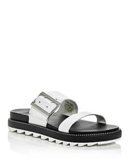 Sorel - Women's Roaming Buckled Platform Slide Sandals