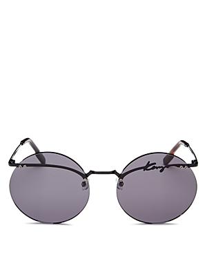 Kenzo Women\\\'s Rimless Round Sunglasses, 60mm