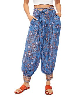 Free People - Picnic Partay Cotton Balloon Pants