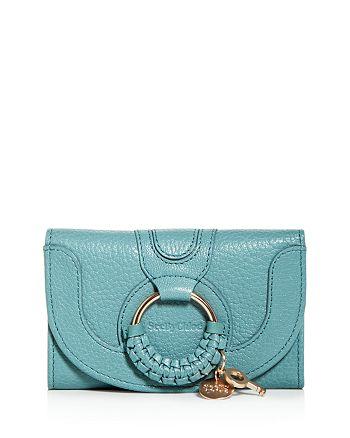 See by Chloé - Hana Leather Bi-Fold Wallet