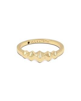 ALLSAINTS - Gold-Tone Hexagon Ring