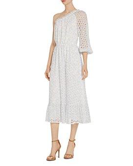 ML Monique Lhuillier - One-Shoulder Dress