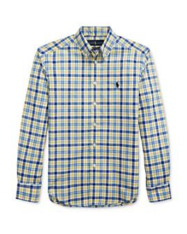 Ralph Lauren - Boys' Plaid Poplin Shirt - Big Kid