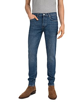 The Kooples - Low-Rise Straight Fit Jeans in Blue