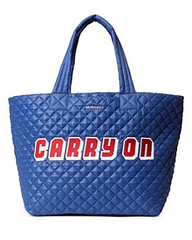MZ WALLACE - Carry On Large Metro Tote Deluxe
