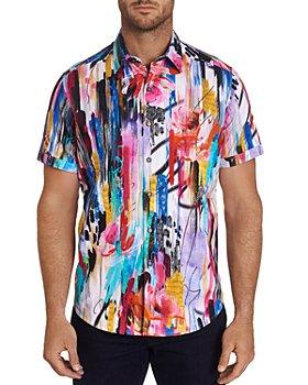 Robert Graham - Embroidered Classic Fit Short-Sleeve Shirt