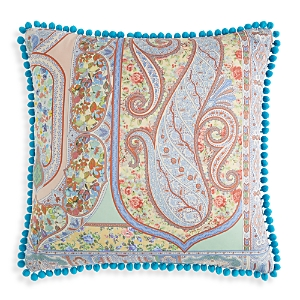Etro Lourmarin Cotton Passenmenterie Pillow, 18 x 18