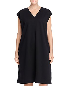 Eileen Fisher Plus - V-Neck Dress