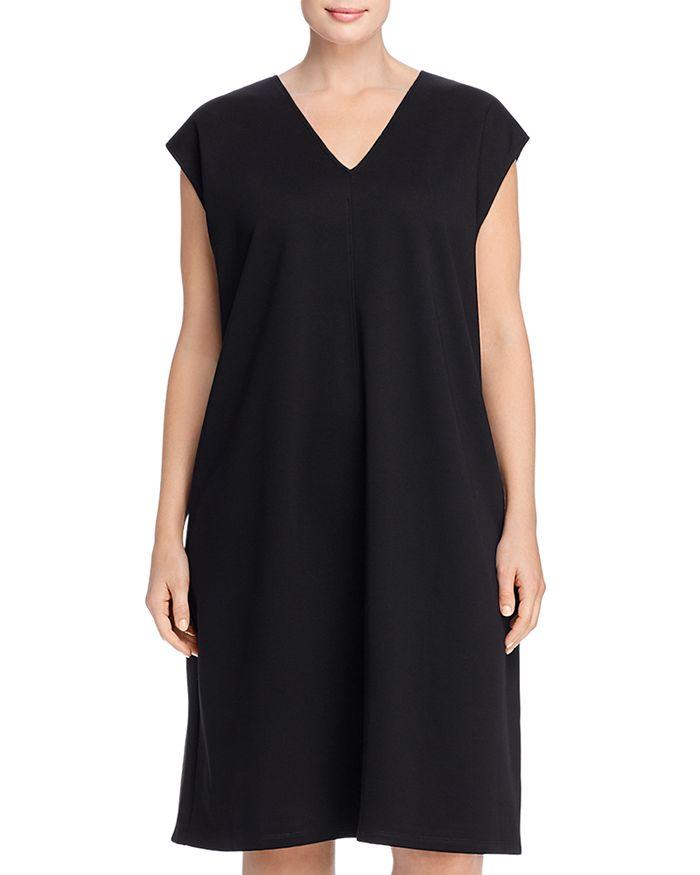 Eileen Fisher Plus - V-Neck Dress