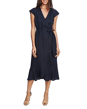 Vince Camuto Ruffled Faux-Wrap Dress - 100% Exclusive-Women