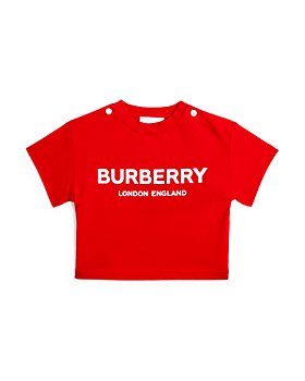 Burberry - Girls' Mini Robbie Logo Tee - Baby