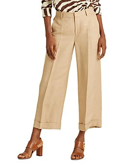Ralph Lauren - High-Rise Wide-Leg Pants