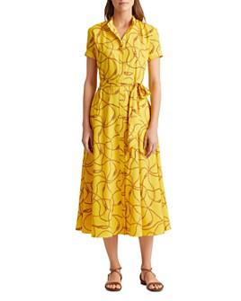 Ralph Lauren - Chain Print Crepe Dress