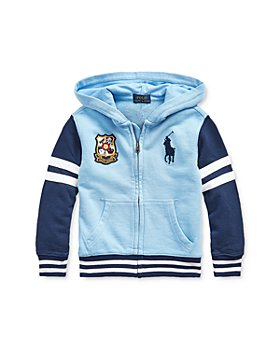 Ralph Lauren - Boys' Color-Block Emblem Hoodie - Little Kid