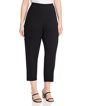 Eileen Fisher Plus - Vented Tapered Pants