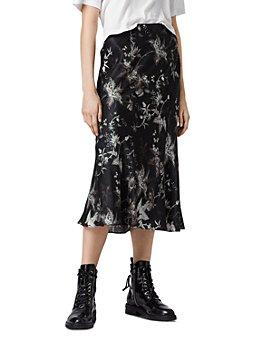 ALLSAINTS - Elly Evolution Midi Skirt