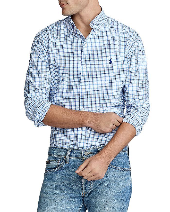 Polo Ralph Lauren - Slim Fit Tattersall Button-Down Oxford Shirt