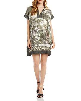 Karen Kane - Safari-Print Tunic