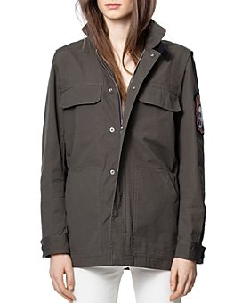 Zadig & Voltaire - Kayaka Sleeve-Patch Jacket