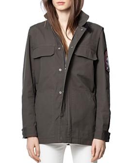 Zadig & Voltaire - Kayaka Sleeve-Patch Jacket