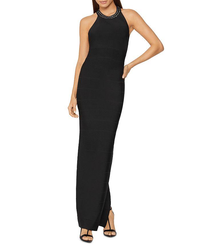 Hervé Léger - Embellished Evening Gown