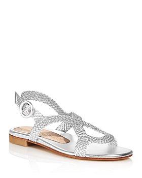 Stuart Weitzman - Women's Teodora Strappy Slingback Sandals