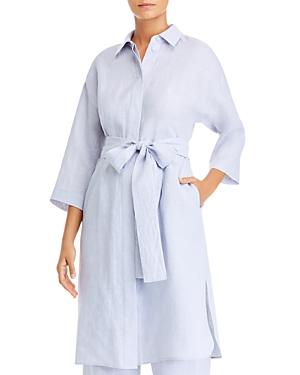 Lafayette 148 New York Rhodes Duster Shirt Dress-Women