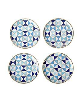 """Jonathan Adler - Dimensions: 4"""" DIAM. Coasters, Set of 4"""